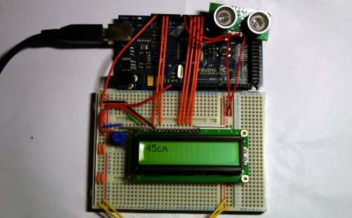 arduino-range-finder